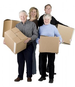 moving senior citizens to assisted living facility